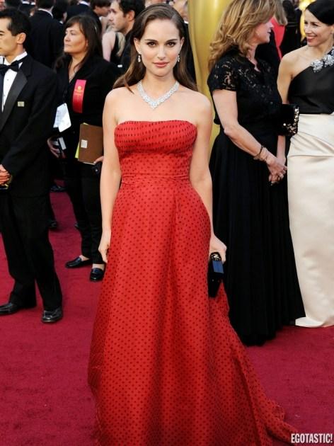 Natalie Portman, Oscar 2012