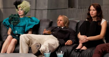 Jennifer Lawrence, Woody Harrelson, Elizabeth Banks, The Hunger Games