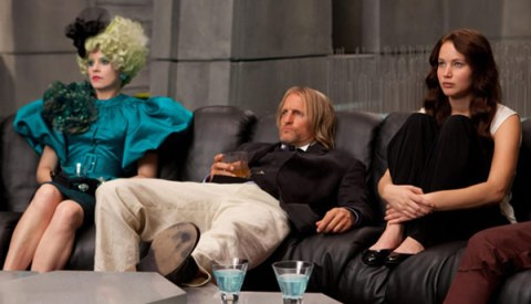 Jennifer Lawrence The Hunger Games Woody Harrelson Elizabeth Banks,