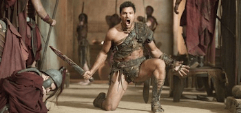 Manu Bennett Spartacus Vengeance Monsters