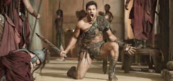 Manu Bennett Spartacus Vengeance Monsters