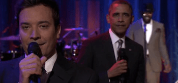 Barak Obama Jimmy Fallon Late Night