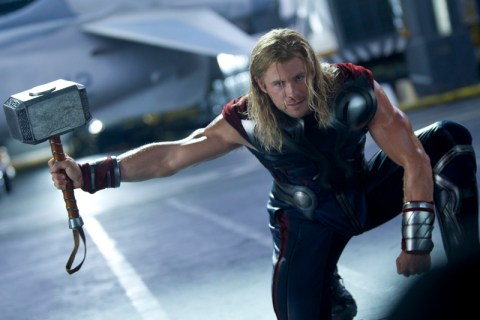 Chris Hemsworth The Avengers