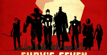 Fury's Seven Movie Poster