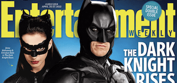 The Dark Knight Rises Entertainment Weekly Cover April 2012