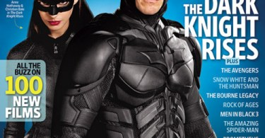 The Dark Knight Rises Entertainment Weekly Summer Movie Preview Cover April 2012