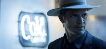 Timothy Olyphant Justified Slaughterhouse