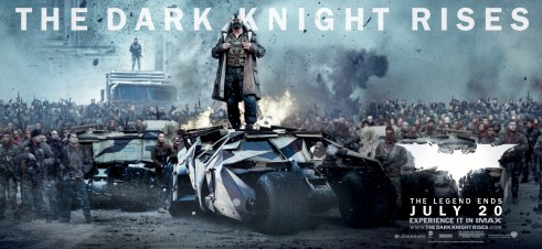 Bane The Dark Knight Rises Movie Banner