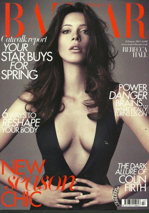Rebecca Hall Harpers Bazaar February 2011