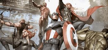 The Avengers Assembled Art