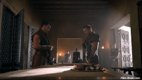Craig Parker Nick E. Tarabay Spartacus Vengeance Monsters