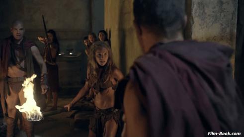 Ellen Hollman Spartacus Vengeance Monsters