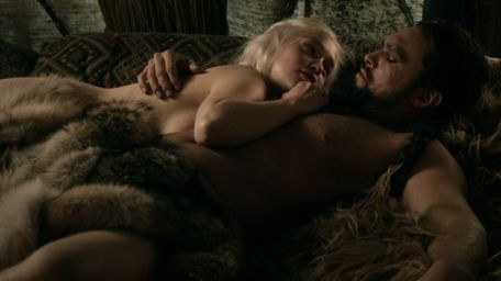 Emilia Clarke Jason Momoa Game of Thrones Lord Snow