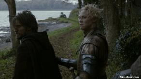 Nikolaj Coster Waldau Gwendoline Christie Game of Thrones Valar Morghulis