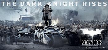 Bane The Dark Knight Rises Movie Banner