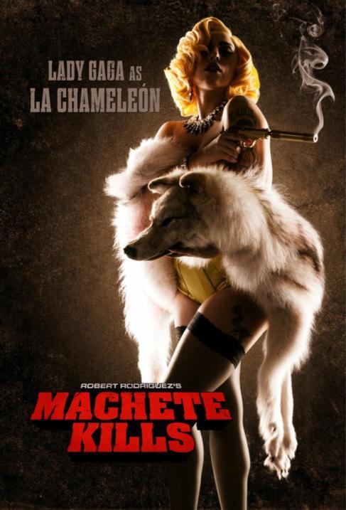 Lady Gaga Machete Kills movie poster