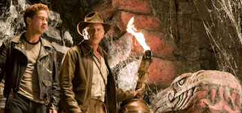 Harrison Ford Shia LaBeouf Indiana Jones and the Kingdom of the Crystal Skull