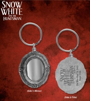 Snow White and the Huntsman Girls Mirror Keychain