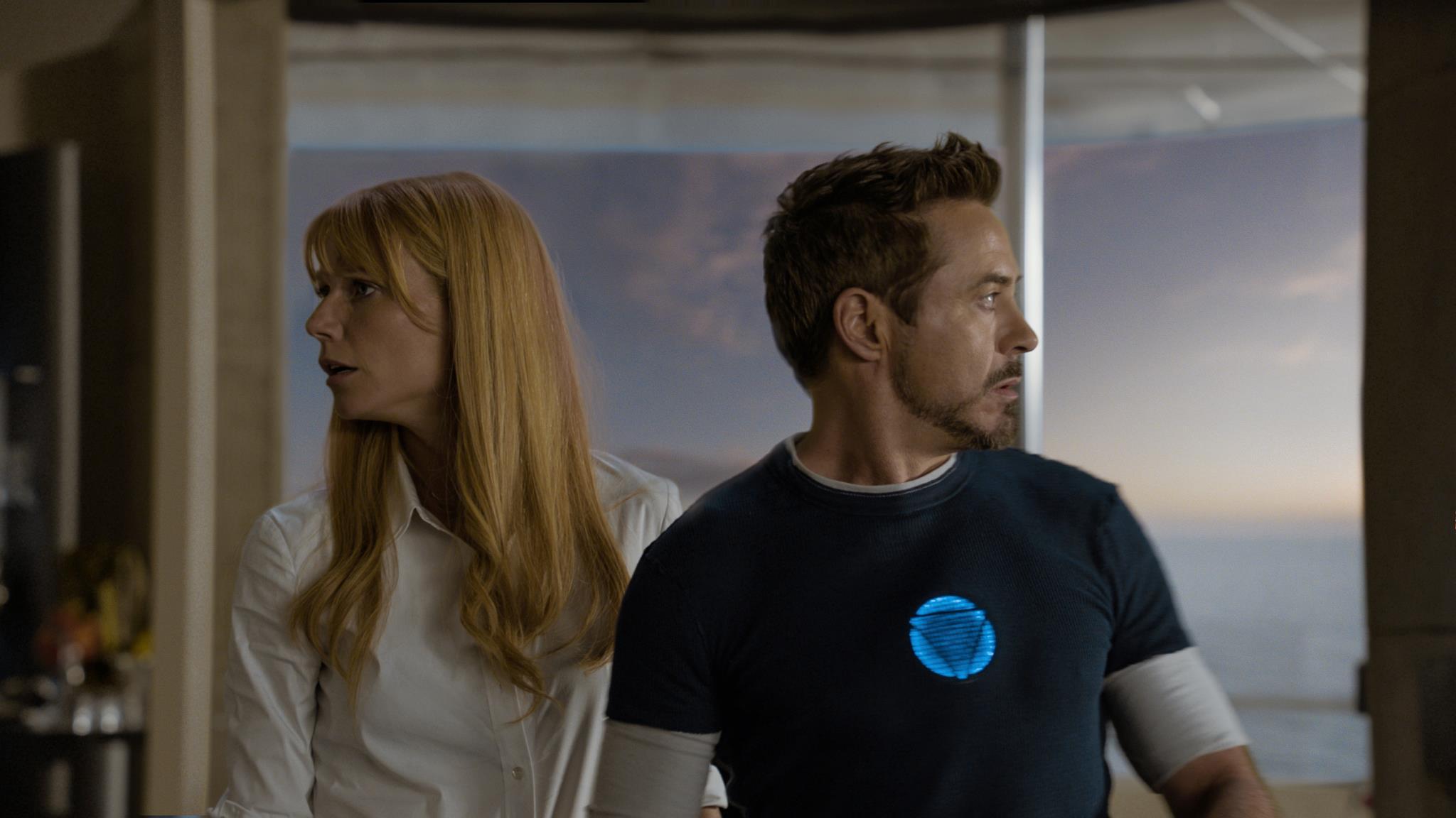 IRON MAN 3 (2013): Ben Kingsley, Gwyneth Paltrow, Iron ...