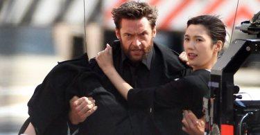 Tao Okamoto Hugh Jackman The Wolverine
