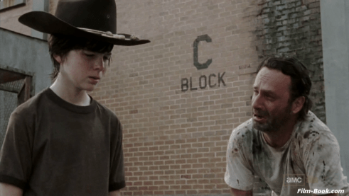 Andrew Lincoln Chandler Riggs The Walking Dead Killer Within