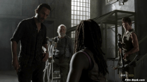 Andrew Lincoln Danai Gurira Norman Reedus Scott Wilson The Walking Dead When the Dead Come Knocking