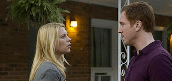 Claire Danes Damian Lewis Homeland I'll Fly Away