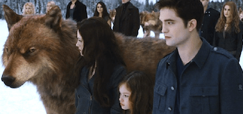 Kristen Stewart Mackenzie Foy Robert Pattinson The Twilight Saga Breaking Dawn Part 2