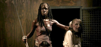 Danai Gurira The Walking Dead Made to Suffer