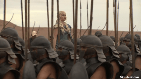Emilia Clarke The Unsullied Game of Thrones
