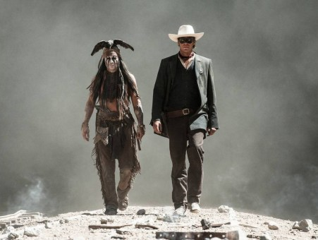 Armie Hammer Johnny Depp The Lone Ranger
