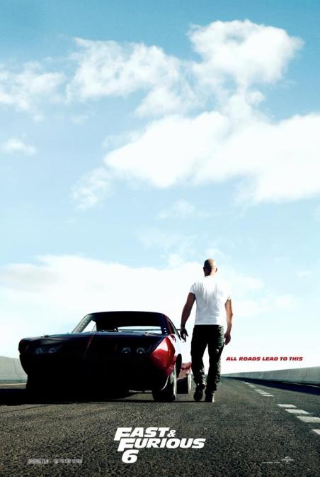 Fast and Furious 6 Teaser Poster