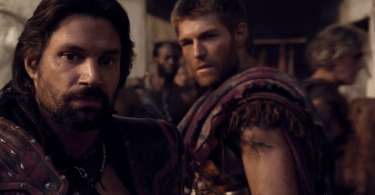 Liam McIntyre Manu Bennett Spartacus War of the Damned Decimation