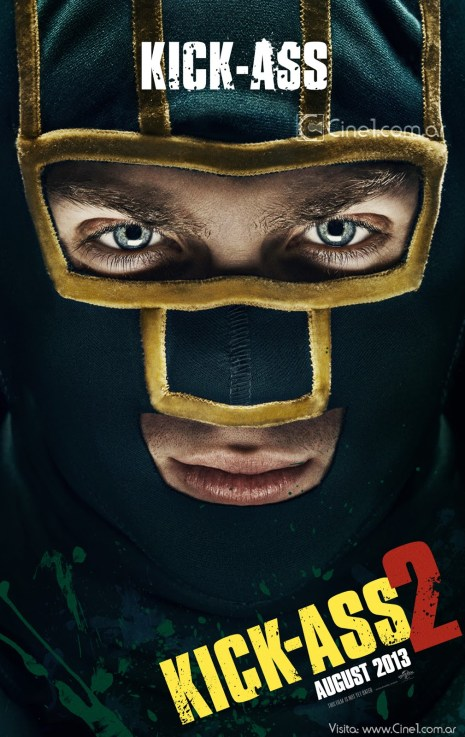 Aaron Johnson Kick-Ass Kick-Ass 2 movie poster