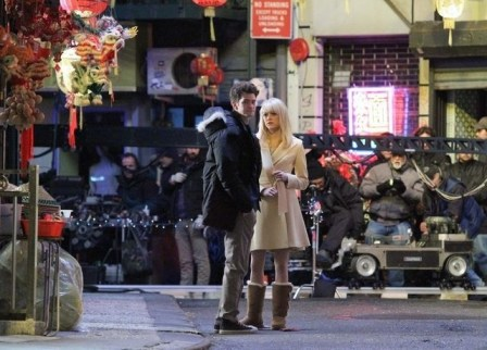 Andrew Garfield Emma Stone The Amazing Spider-Man 2