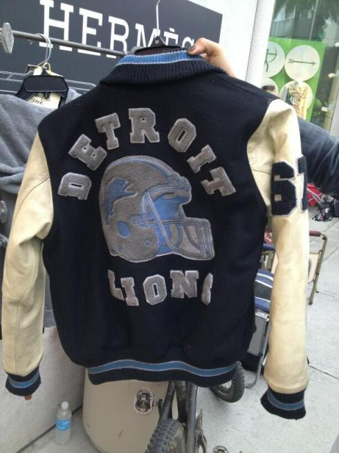 Detroit Lions Jacket Beverly Hills Cop