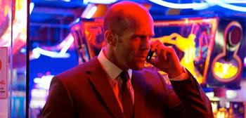 Jason Statham Hummingbird Phone Neon Sign