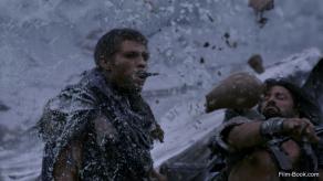 Liam McIntyre Manu Bennett Spartacus War of the Damned Mors Indecepta