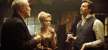 Michael Caine Scarlett Johansson Hugh Jackman The Prestige