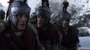 Simon Merrells Todd Lasance Christian Antidormi Spartacus War of the Damned Mors Indecepta