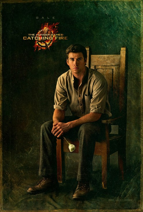 The Hunger Games Catching Fire Gale Capitol Portrait movie poster