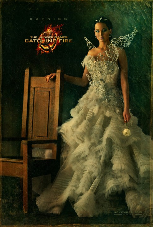 The Hunger Games Catching Fire Katniss Capitol Portrait movie poster