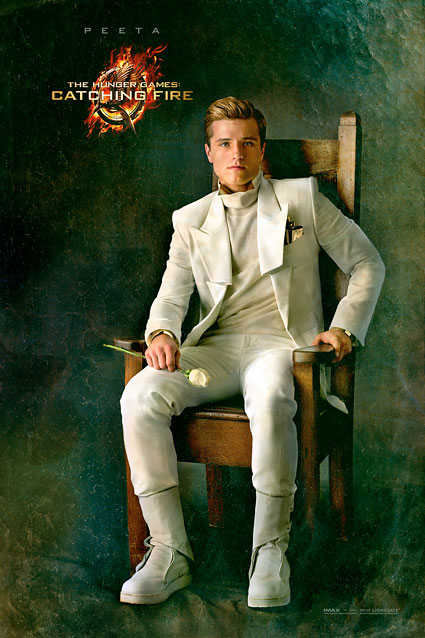 The Hunger Games Catching Fire Peeta Capitol Portrait movie poster