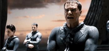 Michael Shannon Antje Traue Man of Steel