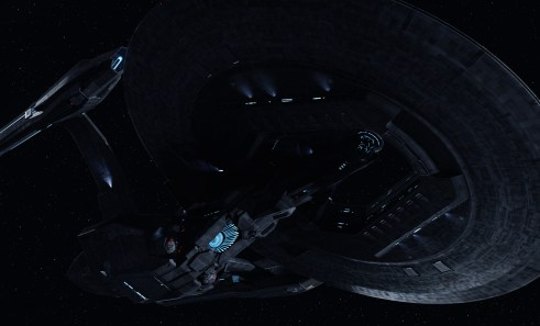 Star Trek into Darkness USS Vengeance Dreadnought class ship
