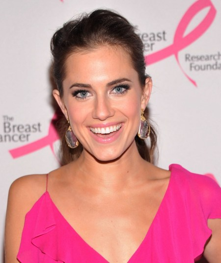 Allison Williams Pink Dress