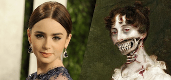 Lily Collins Pride and Prejudice and Zombies