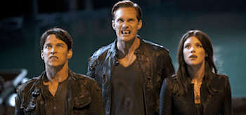 Lucy Griffiths Stephen Moyer Alexander Skarsgard True Blood