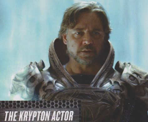 Russell Crowe Man of Steel Empire Magazine June 2013