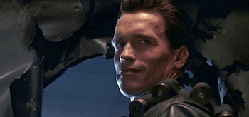 Arnold Schwarzenegger Terminator 2 Judgement Day